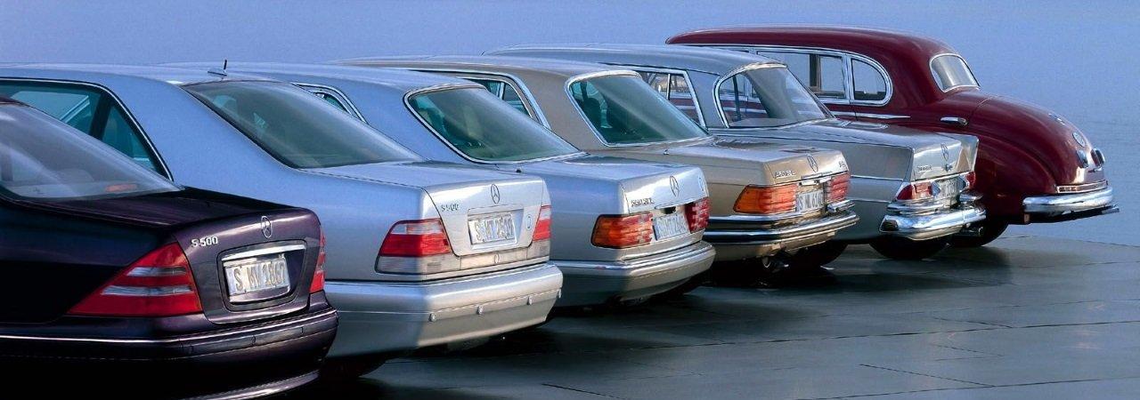 Mercedes Benz S Class Blueprint