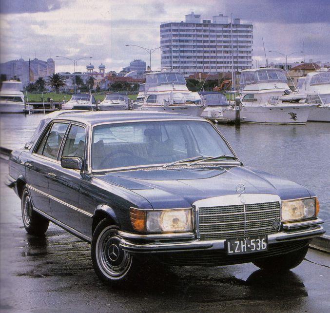 Mercedes Luxury Cars >> W116 : Mercedes-Benz S-Class - 280S, 280SE, 280SEL, 300SD, 350SE, 350SEL, 450SE, 450SEL & 450SEL 6.9